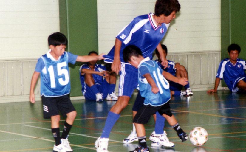セレッソ大阪の若手選手とミニゲーム(2001/?)