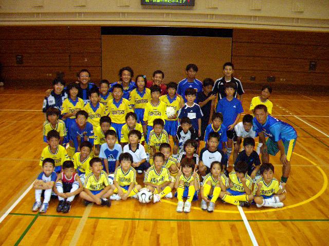 奈良デフキッズSCと合同練習(2006/8/5)