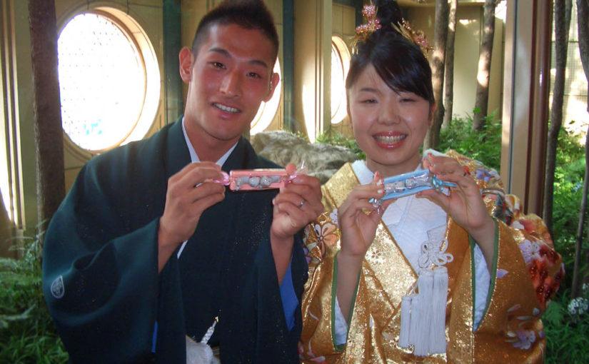 野島コーチ-香織コーチ結婚式(2008/8/2)