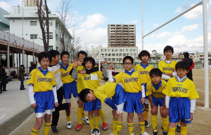東住吉SC 6年生交流大会(2009/12/20)