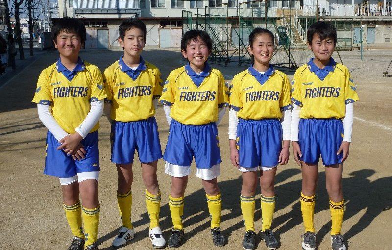 東住吉SC 卒業記念サッカー大会(2010/2/21)