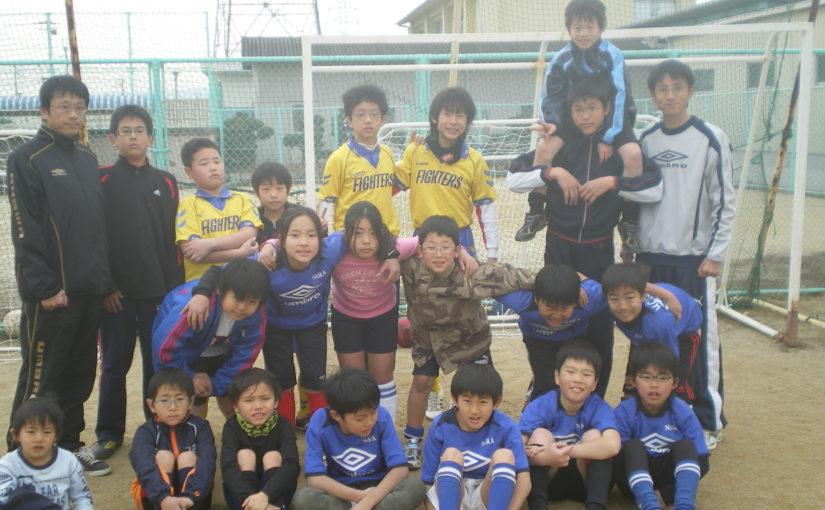 奈良デフキッズSCとの合同練習(2011/2/6)